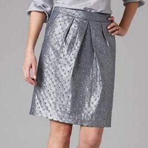 Boden Limited Edition Eyelet A Line Career Skirt 4
